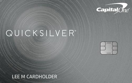 Capital One Quicksilver Secured Cash Rewards Credit Card