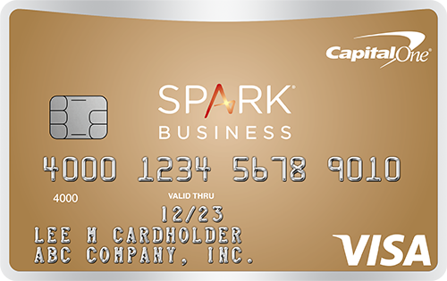 Small business credit cards capital one spark classic for business reheart Images