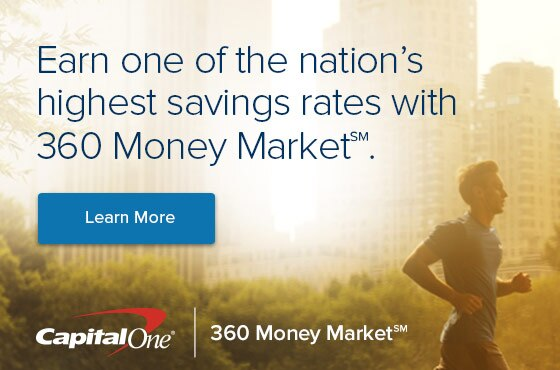 Earn one of the nation's highest savings rates with 360 Money Market. Learn more.