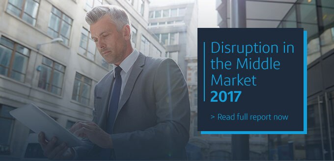 Disruption in the middle market 2017. Read the full report.