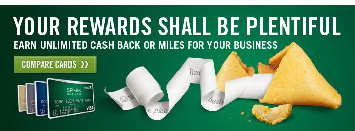 With the Capital One Spark Cash or Spark Miles business credit card, you can earn unlimited cash back or miles. Compare cards.