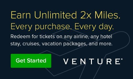 Get started with Venture and earn Unlimited 2X Miles on every purchase. Redeem for airline tickets, hotel stays, vacation packages, and more.