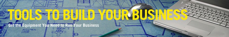 Tools to build your business. Get the equipment you need to run your business.