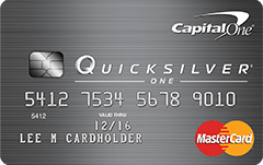 One capital card reviews quicksilver credit