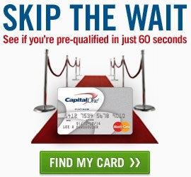 Skip the wait. See if you're pre-qualified for a new credit card in 60 seconds or less. Find your card now.