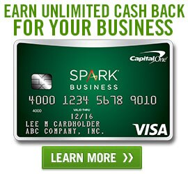 Learn more about Capital One's Spark Business credit card offering unlimited cash back for your business.